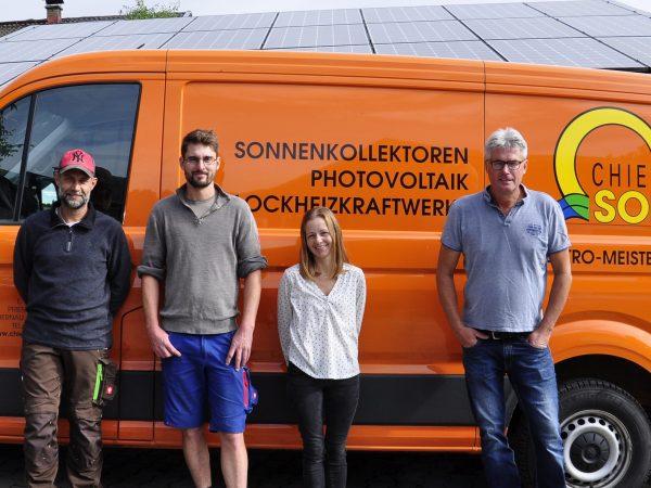 Chiemsee Solar Webseite